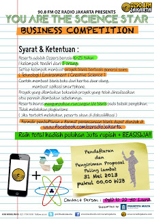 Poster YATSS Business Competition Final